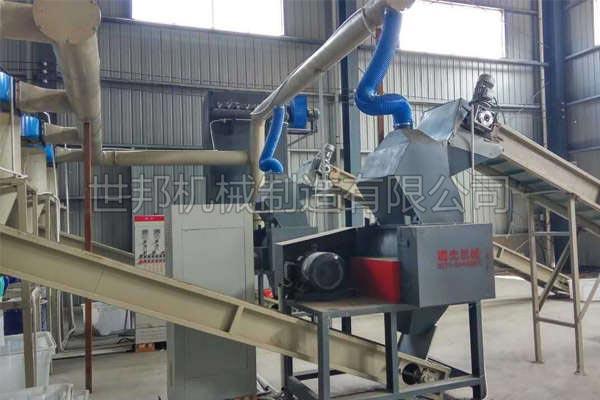 废铝壳电容处理设备
