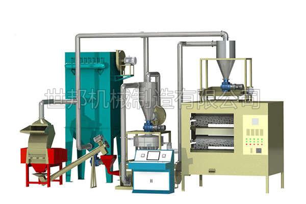 铝塑分离设备合理的设计和分选技术解决了铝塑的分离问题