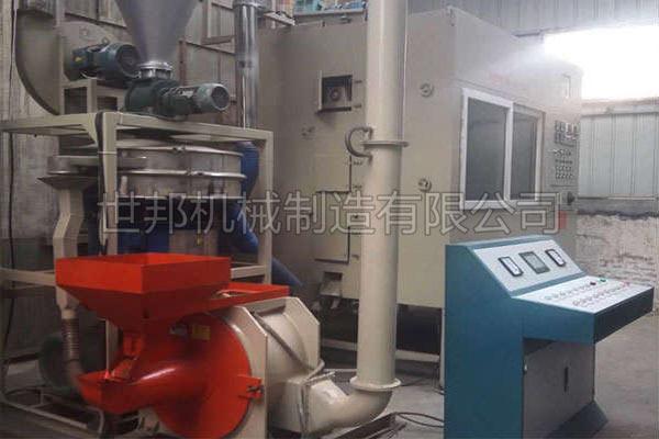 铝塑分离机可应用于各种铝塑板回收处理