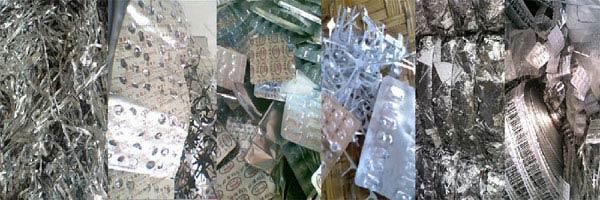 废旧铝塑药片板