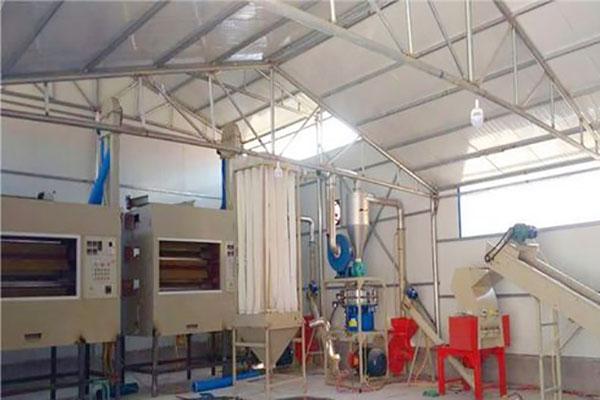 铝塑板分离设备处理废药片板过程无污染,金属分选效果好