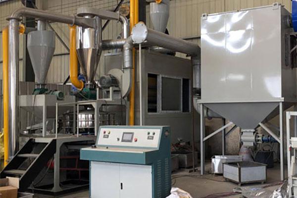 铝塑分离分选设备通过不断创新实现金属回收产业化
